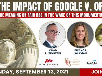 The Impact of Google v. Oracle