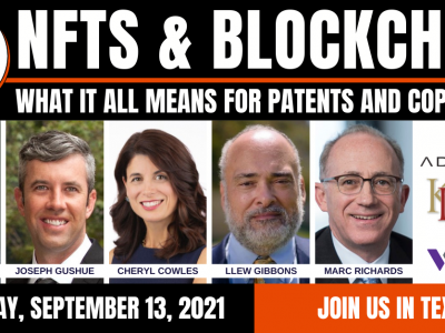 NFTs & Blockchain: What it means for patents and copyrights