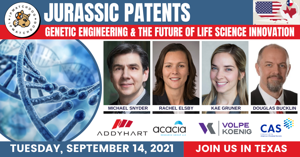 Jurassic Patents: Genetic Engineering and the Future of Life Science Innovation