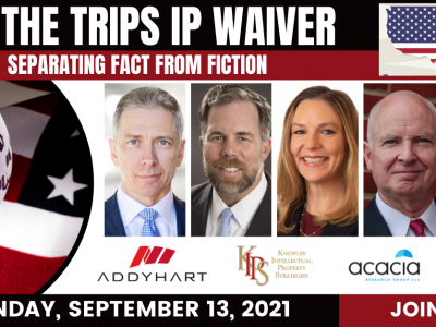 TRIPS IP Waiver panel