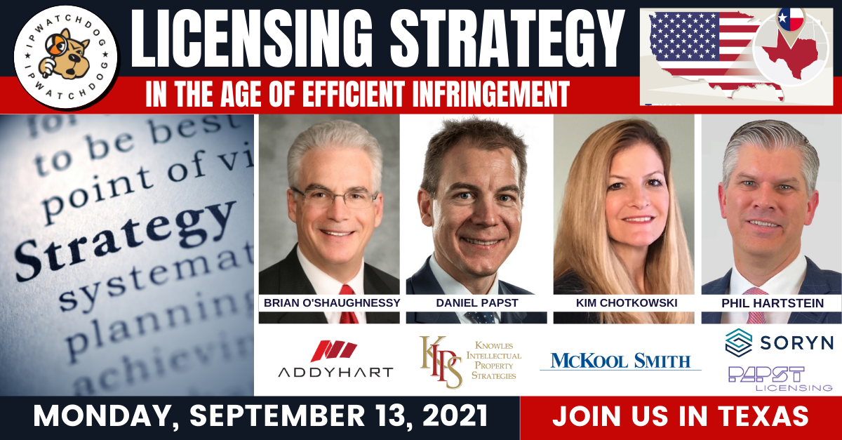 Licensing Strategy: Age of Efficient Infringement